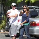 Vanessa Minnillo: out for an early breakfast in Encino