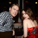 Lily Collins and Chord Overstreet - 454 x 548