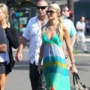 Paris Hilton: of Sydney Harbour on board the GHOST II yacht as part of the Marquee night club opening
