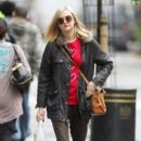 Fearne Cotton pictured in central London, UK