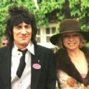 Ron Wood and Jo Wood - 454 x 322