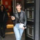 Frankie Bridge – Leaves BBC studios in London - 454 x 630
