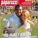 Brenda Asnicar and Carlos Tevez