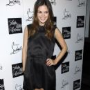 Rachel Bilson - Saks Fifth Avenue Host A Cocktail Party To Welcome Christian Louboutin, 17.10.2007.