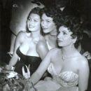 Sophia Loren, Yvonne De Carlo and Gina Lollabrigida, - 454 x 588