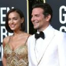 Irina Shayk and Bradley Cooper At The 76th Golden Globe Awards (2019)