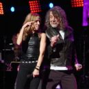 Robert Plant performs onstage during the Third Annual Love Rocks NYC Benefit Concert for God's Love We Deliver on March 07, 2019 in New York City - 399 x 600