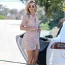 Kate Hudson: attends an Easter Party at her ex-fiance Matthew Bellamy's house in Malibu