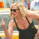 Kim Cattrall - On Set Of Sex & The City 2 In NY - Sept 8 2009