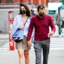 Katie Holmes – Out for a stroll in New York