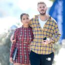Christina Milian and Matt Pokora – Out of lunch in West Hollywood - 454 x 740