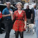 Cozi Zuehlsdorff – Arrives at Good Morning America in NYC - 454 x 658