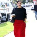 Jennifer Garner -Seen going to church in Los Angeles