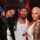 Amber Rose and Nick Cannon Party at Borgata Hotel Casino & Spa in Atlantic City, New Jersey - March 13, 2015 - 454 x 303