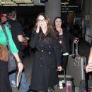 Kat Dennings - Arriving At The Airport In Toronto - September 9, 2010