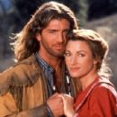 Joe Lando and Jane Seymour in Dr. Quinn, Medicine Woman (1993) - 300 x 420