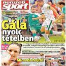 Nemzeti Sport - Nemzeti Sport Magazine Cover [Hungary] (14 August 2014)