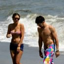 Lauren Conrad And Kyle Howard At Malibu Beach, April 4, 2009 - 454 x 698