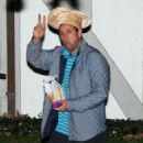 Adam Sandler spotted at K a t e Hudson's annual Halloween Party at her house in Brentwood, California on October 28, 2016 - 454 x 588