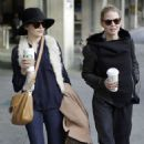 Ginnifer Goodwin And Jennifer Morrison Enjoy A Coffee Date