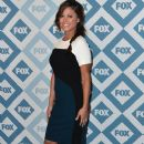 Vanessa Lachey arrives to the 2014 Fox All-Star Party at the Langham Hotel on January 13, 2014 in Pasadena, California