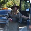 Hilary Duff – Heads to the Gym in Studio City