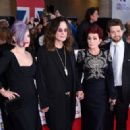Kelly Osbourne, Ozzy Osbourne, Sharon Osbourne and Jack Osbourne attend the Pride of Britain awards at The Grosvenor House Hotel on September 28, 2015 in London, England. - 454 x 322
