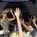 Paris Hilton Djs At Olivia Valere In Marbella