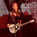 Musician James Hetfield of Metallica performs onstage at CBS RADIO's third annual 'The Night Before' at AT&T Park Presented by Salesforce on February 6, 2016 in San Francisco, California.