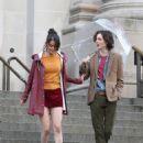 Selena Gomez – Woody Allen Set movie in NYC - 454 x 627