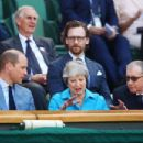 Prince Windsor and Kate Middleton : Wimbledon 2018 Men's Singles Final - 454 x 303