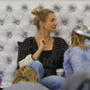 Cameron Diaz and Nicole Richie at a Nail Salon in Beverly Hills