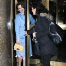 Hayley Atwell out in New York