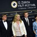 Sibel Kekilli : Award Night Green Carpet - 12th Zurich Film Festival - 454 x 303