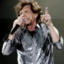 The Rolling Stones performs on stage, 5 June 2007 in Werchter, Belgium