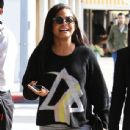 Christina Milian  out to lunch with friends at Il Pastaio in Beverly Hills, California on January 11, 2017 - 437 x 600