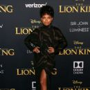 Logan Browning – 'The Lion King' Premiere in Hollywood - 454 x 679