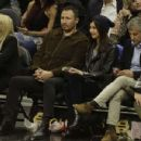 Gemma Chan at Los Angeles Lakers Vs The Clippers Game in Los Angeles - 454 x 349
