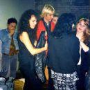 Kirk Hammett and Rebecca Hammett