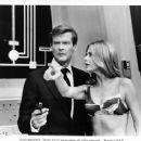 Roger Moore and Britt Ekland