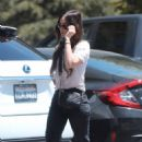 Megan Fox in Black Jeans – Out in Calabasas