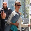 Alessandra Ambrosio – Leaves her yoga class in Brentwood - 454 x 675