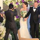 Nick Carter and Lauren Kitt Wedding Pics April 12, 2014 - 454 x 511