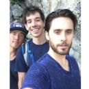 Jimmy Chin, Alex Honnold and Jared Leto in Yosemite (2016)