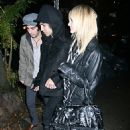 Ashlee Simpson Leaving Angels And Kings With Pete Wentz In NYC 2007-11-13