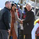 Priyanka Chopra – On location with the cast of Quantico in New York City - 454 x 670