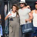 Nikki Reed and Ian Somerhalder out in Venice - 454 x 719