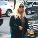 Jessica Simpson – Returns to The Greenwich Hotel in New York - 454 x 544