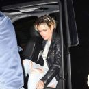 Kristen Stewart – Arriving to the SNL after-party in New York
