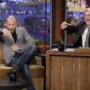 """Jason Statham making an appearance on """"The Tonight Show with Jay Leno"""" (August 17)"""